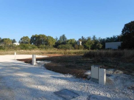 Vente terrain SAINT AMBROIX 48 000  €