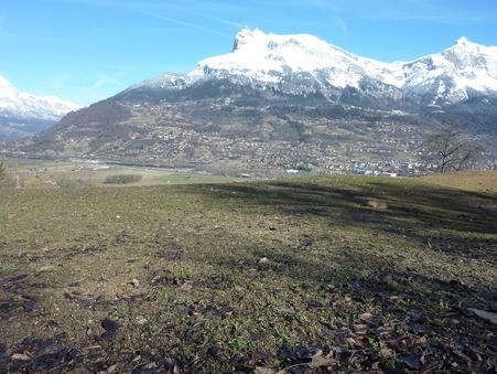 vente terrain ST GERVAIS LES BAINS 856m2 200000€