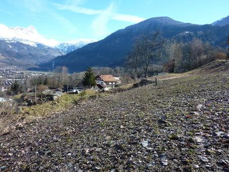 vente terrain ST GERVAIS LES BAINS 805m2 150000€