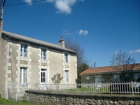 vente maison CHAPELLE VIVIERS 125m2 138000€