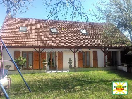 vente maison LA GUERCHE SUR L'AUBOIS 155m2 129900€