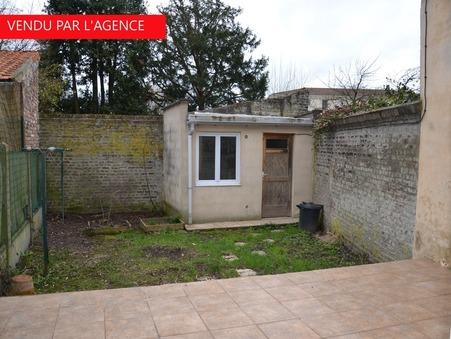 vente maison MONS BAROEUL 62m2 132000€