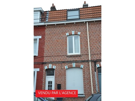 vente maison MONS BAROEUL 90m2 132000€
