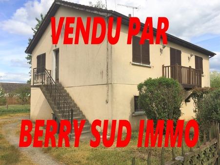 vente maison SANCOINS 81m2 55000€