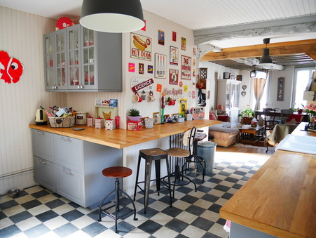 vente maison LA RIVIERE ST SAUVEUR 252000 €