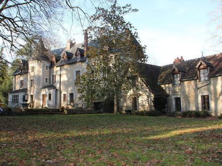 vente chateau Chateauroux 650m2 728000€