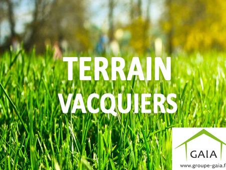 vente terrain VACQUIERS 1098m2 93500€