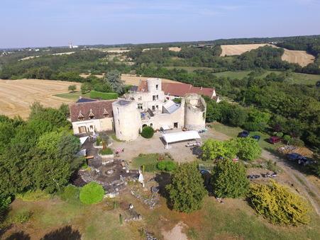 vente chateau CHATEAUROUX 300m2 588000€
