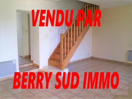 vente maison SANCOINS 75m2 31500€