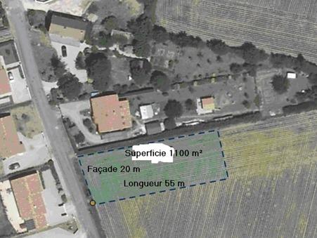 vente terrain POUILLE 1100m2 33000€