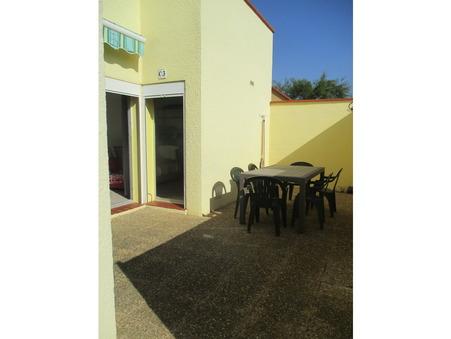 vente appartement LE BARCARES 37m2 116600€