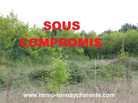 Vends terrain TONNAY CHARENTE 47 300  €
