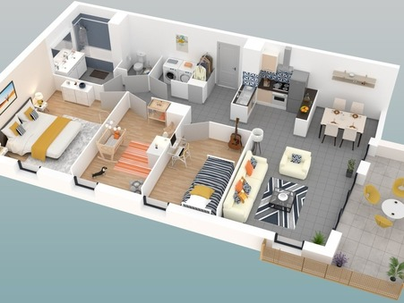 A vendre appartement ST PRIEST  298 000  €