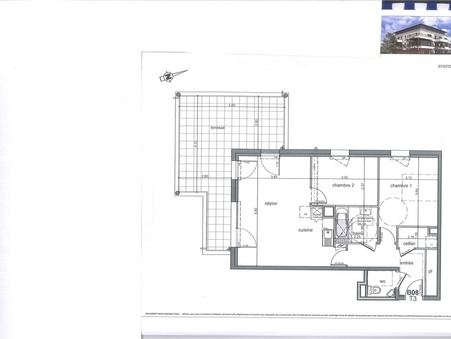 vente appartement GUICHEN 64.53m2 172064€