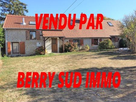 vente maison SANCOINS 115m2 85000€