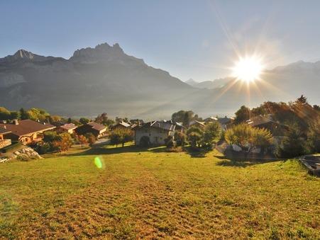 vente terrain SALLANCHES 1622m2 225000€