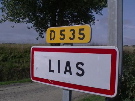 vente terrain LIAS 500m2 96000€