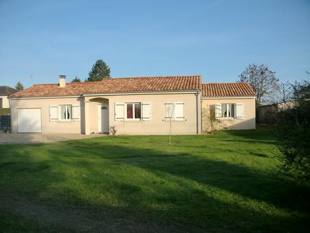 vente maison LA PUYE 123m2 159000€