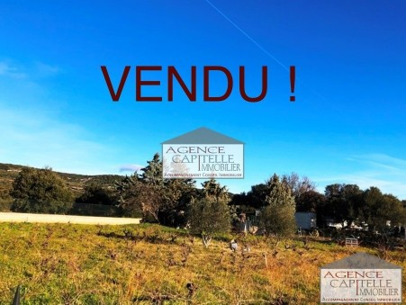 Vendre terrain MIREVAL 75 000  €