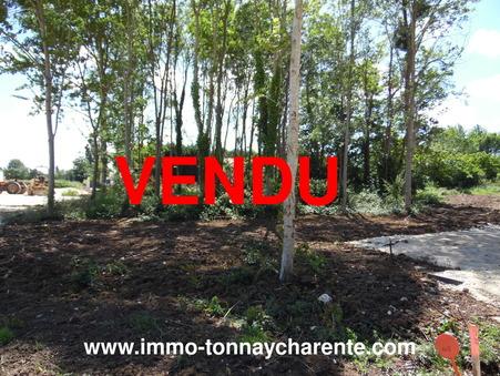 Vente terrain TONNAY CHARENTE 40 900  €