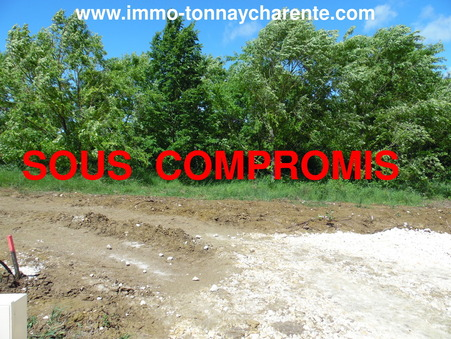 Achat terrain TONNAY CHARENTE 64 100  €