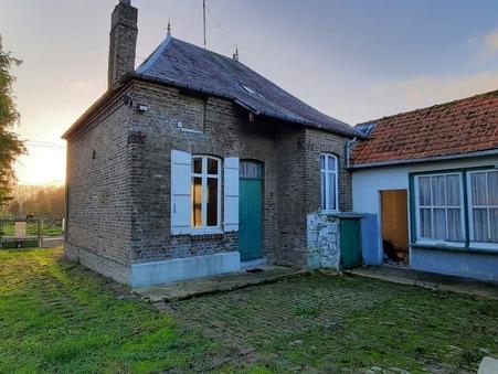 Achat maison PONT REMY 70 m² 86 000  €