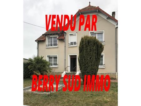 vente maison SANCOINS 176m2 139000€
