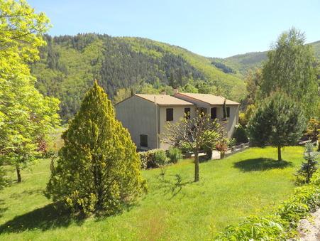 vente maison MONTPEZAT SOUS BAUZON 155m2 189000€