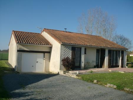 vente maison BONNEUIL MATOURS 102000 €
