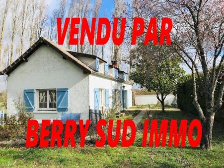 vente maison SANCOINS 135m2 67000€