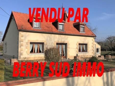 vente maison SANCOINS 118m2 133500€