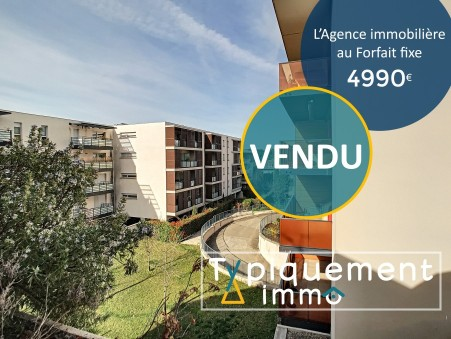 vente appartement Toulouse 56.76m2 159990€