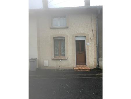 vente maison Bogny sur meuse 80m2 65000€