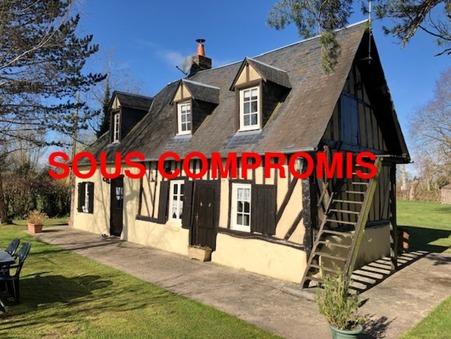 vente maison LISIEUX 72m2 128400€