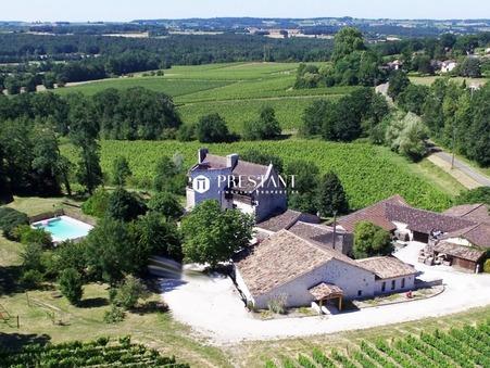 A vendre viticole BERGERAC 2 950 000  €