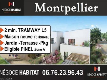 vente maison montpellier 68m2 235000€