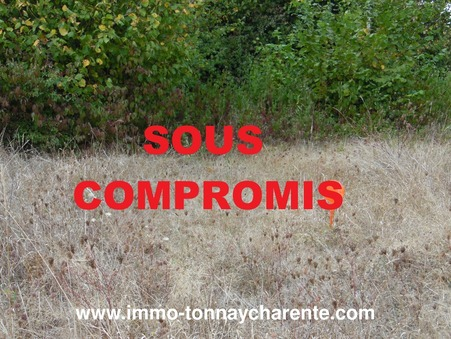 A vendre terrain TONNAY CHARENTE 39 200  €