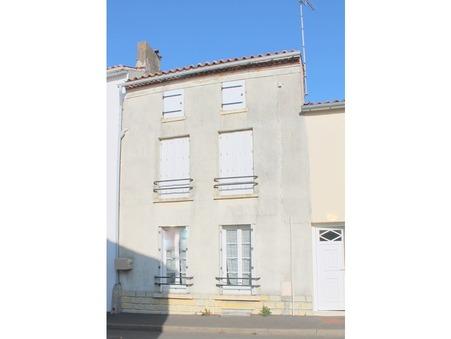 Vends maison La chataigneraie 48 500  €