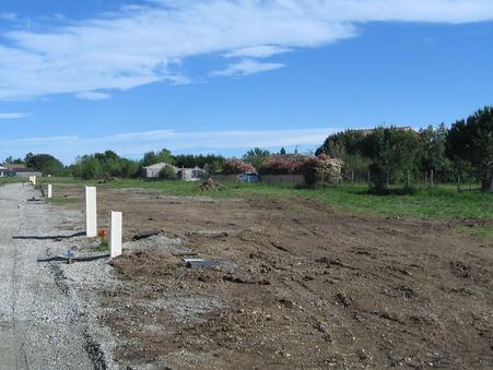 vente terrain MONTAIGUT SUR SAVE 450m2 122000€