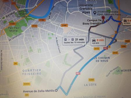 vente appartement Saint-Martin-d-Heres 65 000  € 61 m²