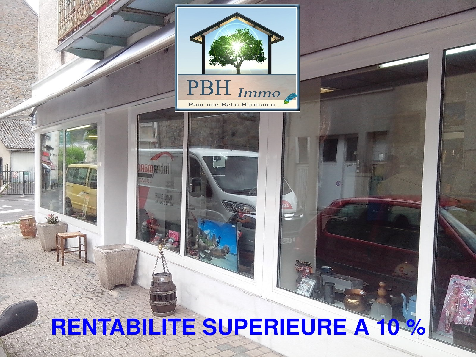 vente local 1 pièces LA BOURBOULE 63150