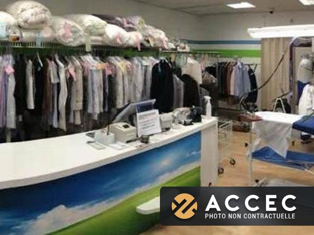Commerce Laverie 80m2 - Entreprise de Services