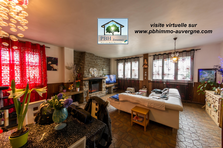 vente maison 5 pièces La bourboule 63150