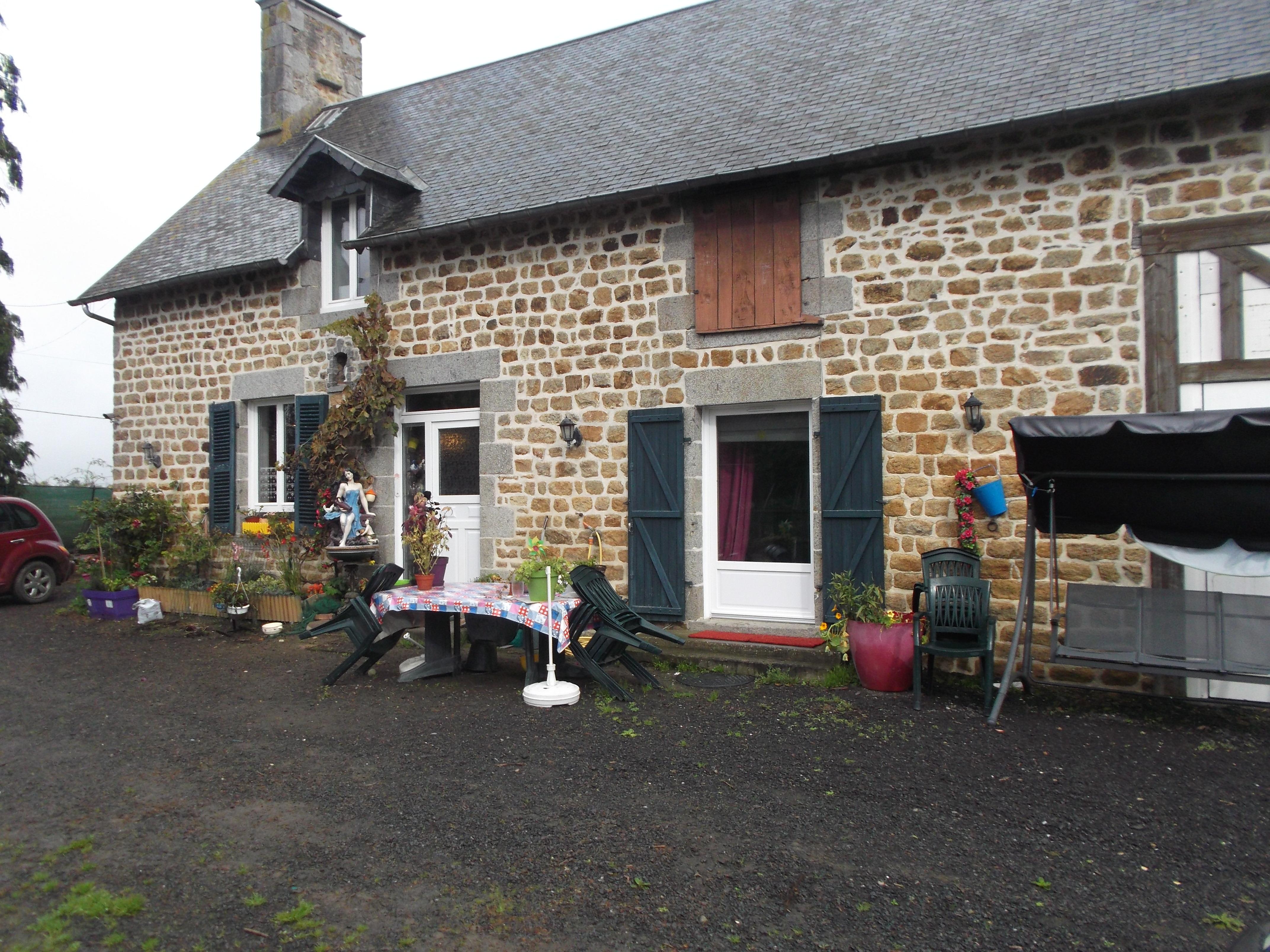vente maison 3 pièces Le val st pere 50300