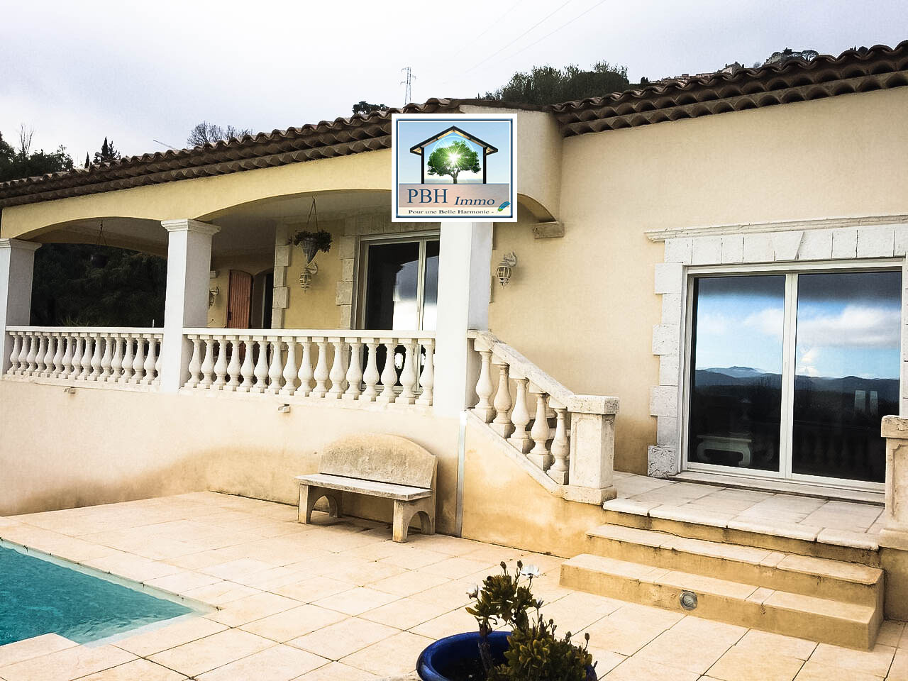 vente maison 5 pièces Cabris 06530