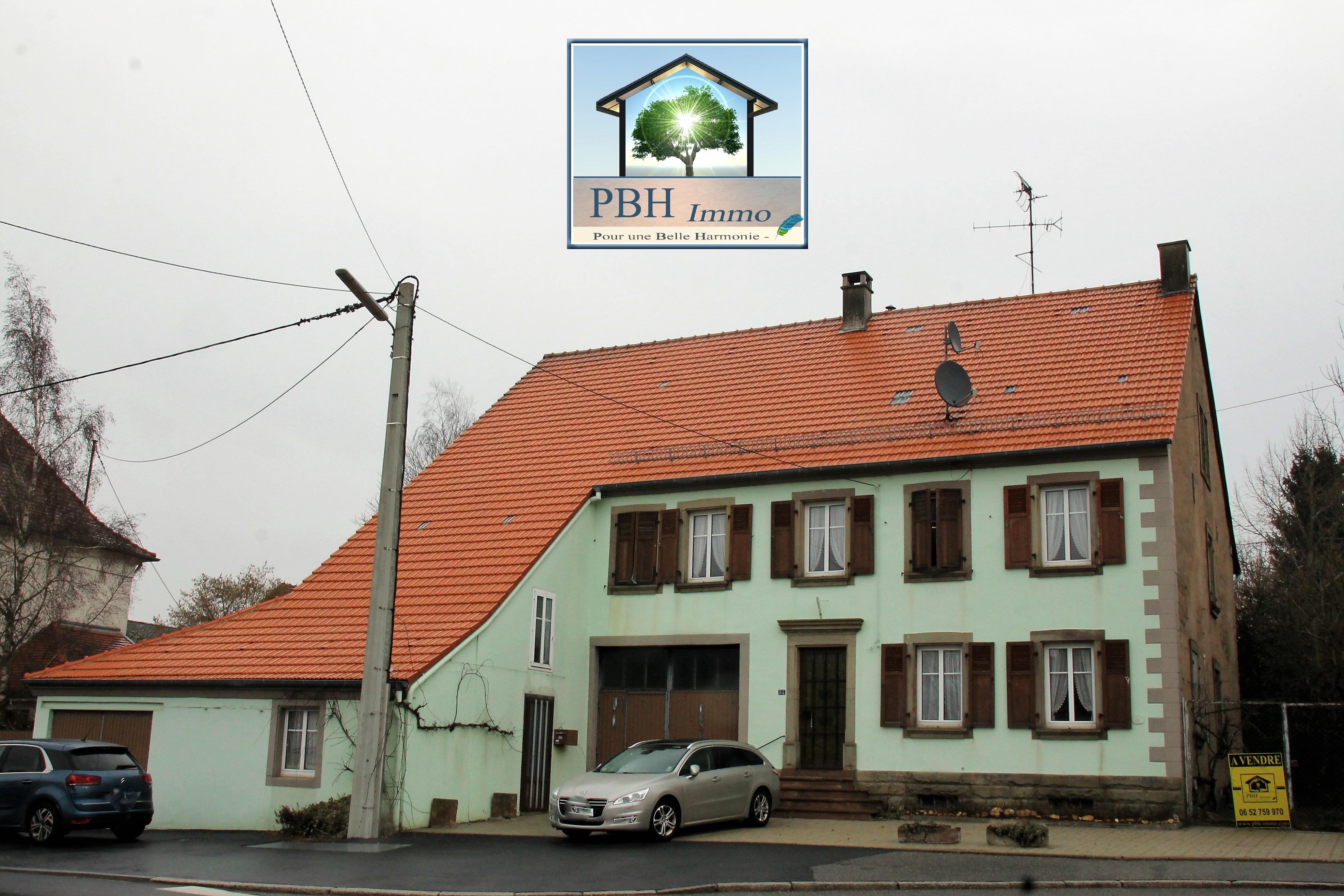 vente maison 7 pièces Phalsbourg 57370