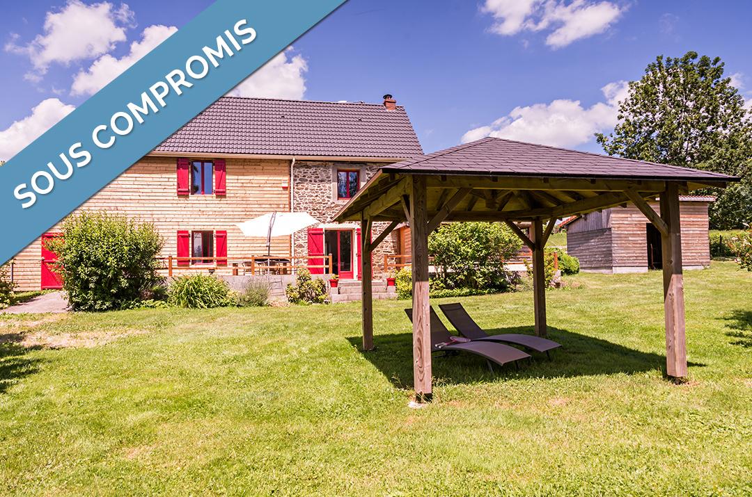 vente maison 7 pièces La bourboule 63150