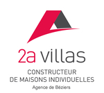 logo 2A Villas Agence de Béziers