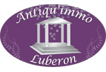 logo ANTIQU\'IMMO LUBERON