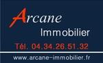 logo Arcane immobilier - Sodefim SARL